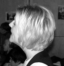 Lärarinnan Elin var mycket nöjd med resultatet avveckans musikalövande.