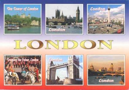 Postcard from London.