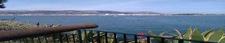 Toulon sett från fortet vi besökte.
