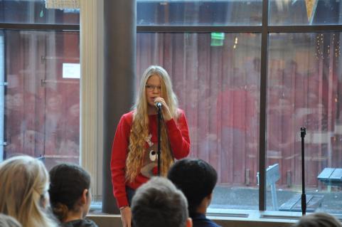 Ellen Bengtsson Redner skötte konferenciersysslan med bravur.