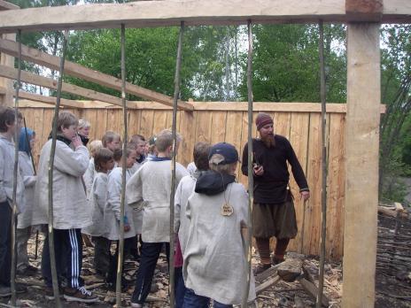 Husbygge med Viking-Agnar