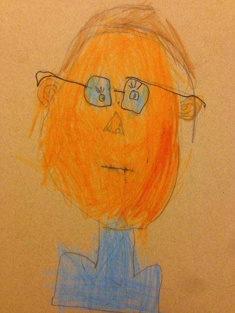 Edvins självporträtt.