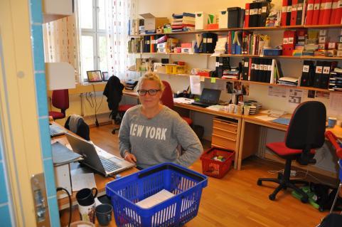 Karin Jutterström, lärare i idrott och engelska.