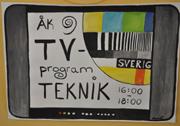 Linnea Carlström i årskurs 9 har tillverkat denna bild.