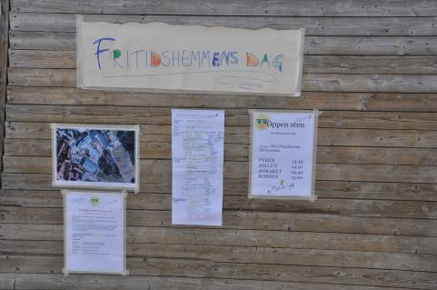 Fritidshemmens dag på Strandskolan. Arrangemang och engagemang.