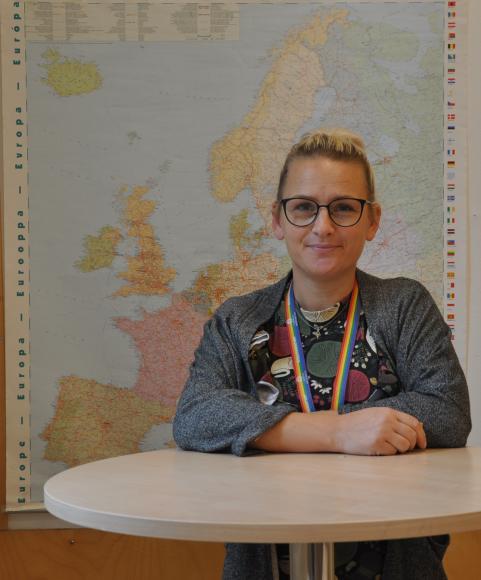 Ylva-Li, lärare på Strandskolan.