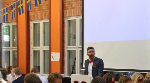 Jonatan Åhlund - Master of ceremonies