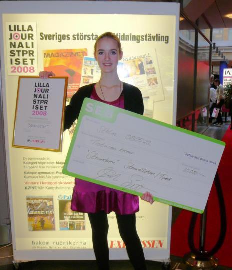 Det är KUL att vara bäst, tycker Strandarens chefredaktör Linnea Carlström!