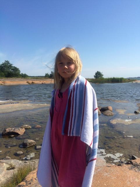 Sommarbad på Åland