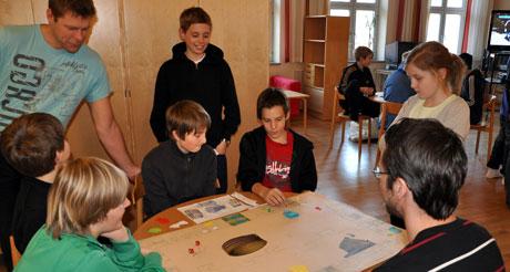 Antikt Monopolspel var populärt.
