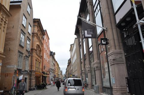 Forum för Levande historia i Gamla stan.